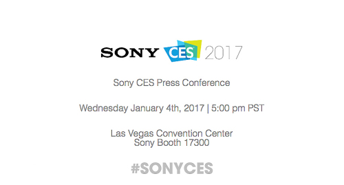 Sony Press Conference Kicks Off CES 2017